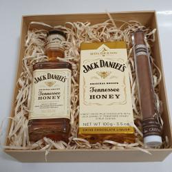 Mini Box - Jack Liqueur & Honey Chocolate