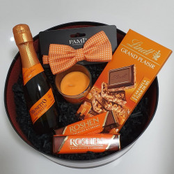 Orange Box Prosecco & Chocolate