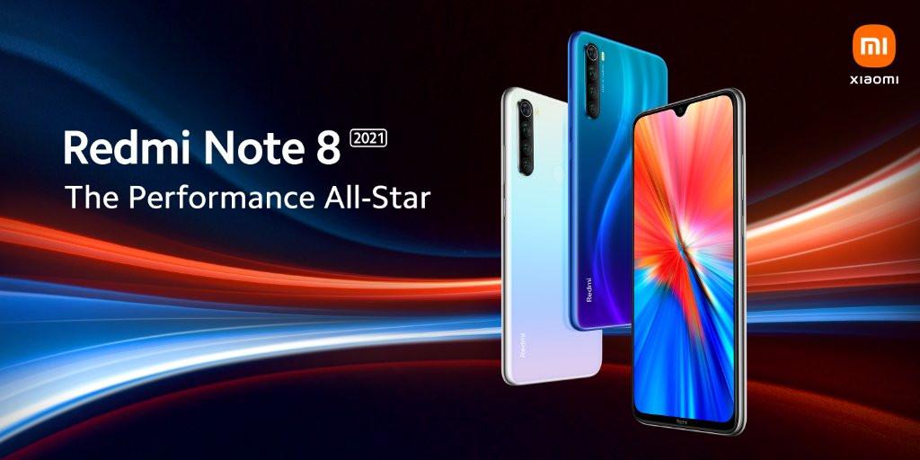 Xiaomi официално представи Xiaomi Redmi Note 8 2021