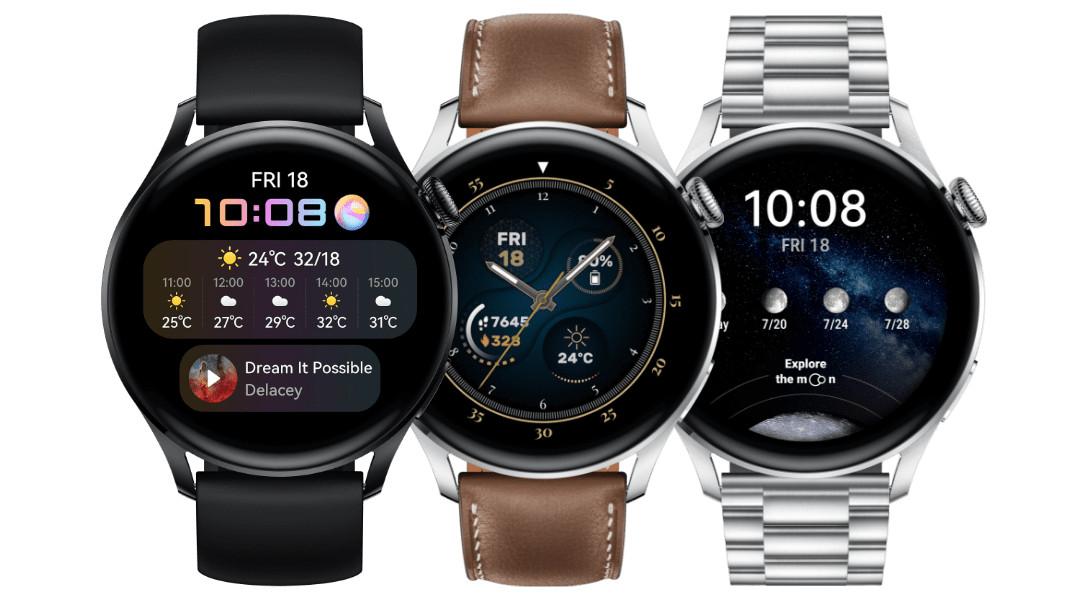 Новите смарт часовници - Huawei Watch 3 и Huawei Watch 3 Pro
