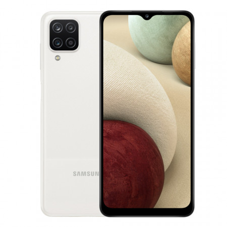 Samsung Galaxy A12, 128GB, White - ofisitel.bg
