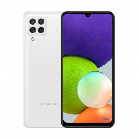 Samsung Galaxy A22, 128GB, White - ofisitel.bg