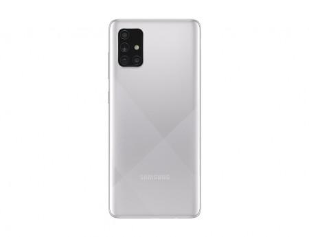 Samsung Galaxy A71, 128GB, Haze Crush Silver - ofisitel.bg