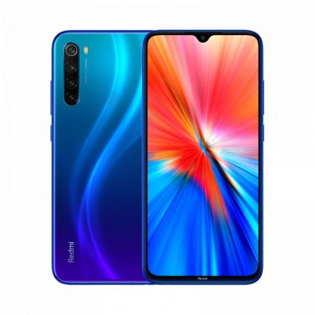 Xiaomi Redmi Note 8 2021, 64GB, Neptune Blue - ofisitel.bg