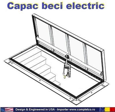 sistem electric pentru actionarea usilor de beci