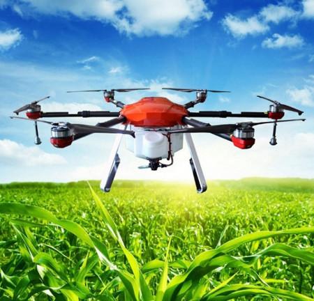 Drona profesionala agricola pulverizare, pomicultura, viticultura, dezinsectie
