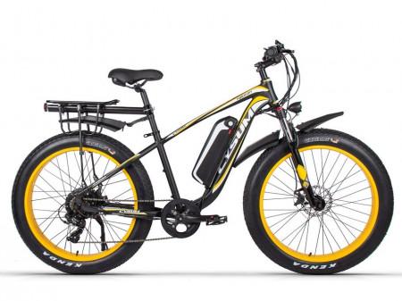 Bicicleta electrica motor 1000W autonomie 80km