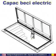 Capac electric usa beci mxim 250 kg, Kit automatizare trape