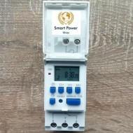 Controler - timer digital programabil, montare pe şină DIN