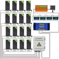 Sistem solar fotovoltaic Off Grid 3KW 48V