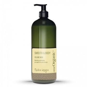 Volume Hair Mask - Masca de păr pentru volum ideală pentru părul subțire și fără ținută. Conține ulei de măsline și ulei de Marula 1000ml