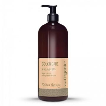 Vitae Bath Hair – Sampon cu PH acid pentru a optimiza durabilitatea culorii părului. Conține ulei de măsline și ulei de marula 1000ml