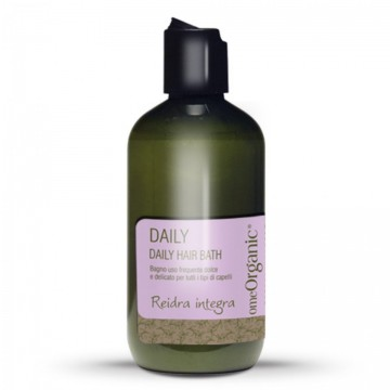 Daily Hair Bath - Șampon pentru utilizare frecventă. Conține ulei de măsline și ulei de marula 250ml