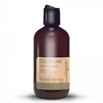 Vitae Bath Hair – Sampon cu PH acid pentru a optimiza durabilitatea culorii părului. Conține ulei de măsline și ulei de marula 250ml