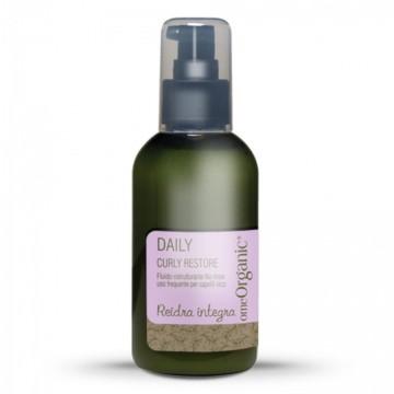 Curly Restore - Fara clatire - fluid restructurant pentru păr cret și utilizare frecventă. Conține ulei de măsline și ulei de Marula 150ml