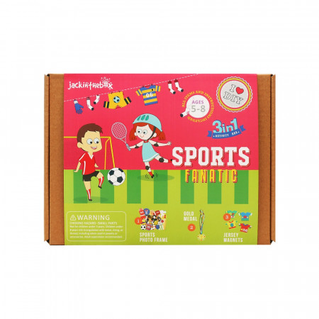 KIT CREATIE 3IN1 IUBITORI DE SPORT