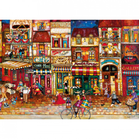 PUZZLE STRAZILE FRANTEI, 1000 PIESE