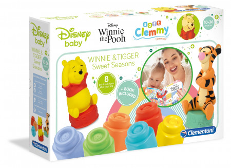 Set cuburi Winnie cu carticica