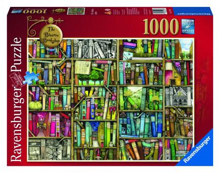 PUZZLE LIBRARIA BIZARA, 1000 PIESE
