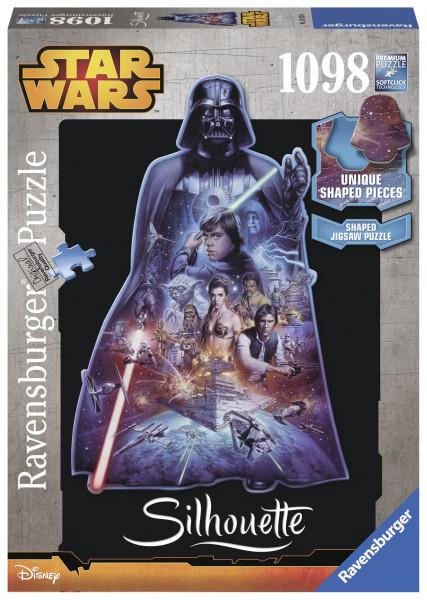 Puzzle Star Wars - Silueta, 1000 Piese