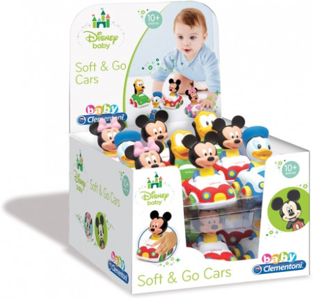 Masinute Disney: Minnie, Mickey, Donald, Pluto