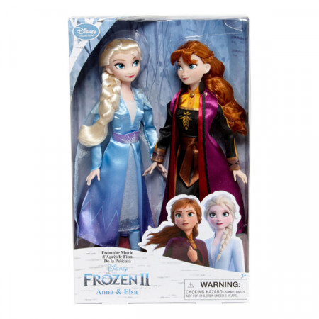 Set de papusi Elsa si Anna Frozen II 29CM