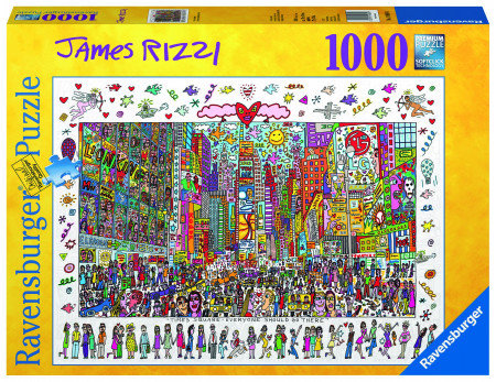 Puzzle Times Square, 1000 Piese