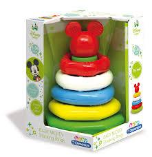 Jucarie Piramida Cu Inele Mickey