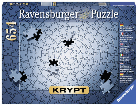 Puzzle Krypt Argintu, 1000 Piese