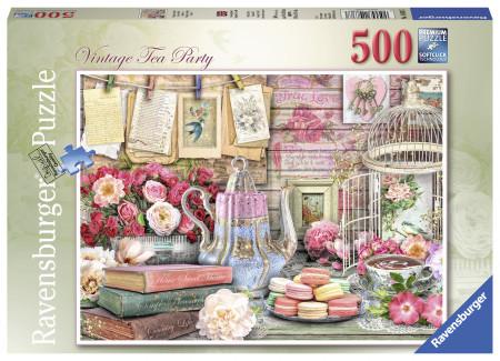 PUZZLE PETRECERE CU CEAI, 500 PIESE