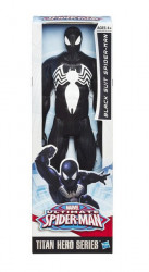 Figurina Spiderman costum negru