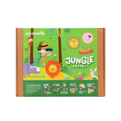 KIT CREATIE 6-IN-1 SAFARI IN JUNGLA
