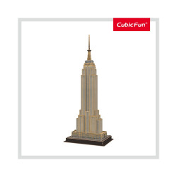 PUZZLE 3D EMPIRE STATE BUILDING (NIVEL MEDIU 54 PIESE)
