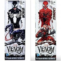 Set figurine Venom + Carnage, Hasbro, 30CM