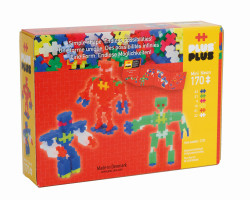 Plus Plus Neon Roboti - 170 Piese