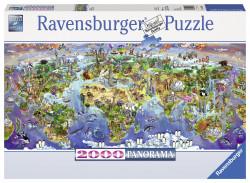 Puzzle Minunile Lumii, 2000 Piese