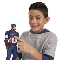 Figurina CAPTAIN AMERICA cu sunete interactive 30 CM - EDITIE LIMITATA !