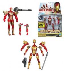 Figurina Iron Man 3 - Iron Man Mark 42 Assemblers 10cm