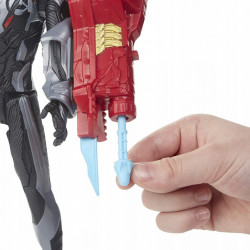 Figurina IRON MAN + Lansator 30 CM cu sunet