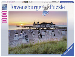 Puzzle Marea Baltica Ahlbeck, Usedom 1000 Piese