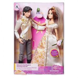 Set de papusi nunta Rapunzel si Eugene 29CM