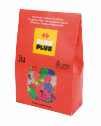 Plus Plus Neon - 300 Piese/Pachet