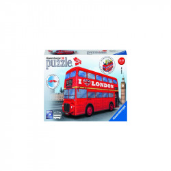 PUZZLE 3D AUTOBUZ LONDRA, 216 PIESE