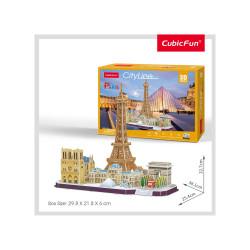 PUZZLE 3D PARIS 114 PIESE