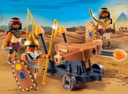 Soldati Egipteni Cu Balista