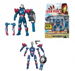 Figurina Iron Man 3 Iron Patriot Assemblers 10cm