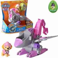 PAW PATROL SKIE VEHICLE + FIGURINA + DINO