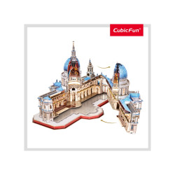 PUZZLE 3D CATEDRALA ST. PAUL (NIVEL COMPLEX 643 PIESE)