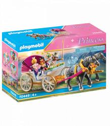 Trasura cu Print si Printesa Playmobil