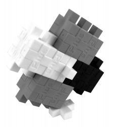 Plus Plus Tonuri De Gri-100 Pcs/Tub